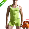 Superbody Sexy Hombres Undershirt body body stocking sexy Hombre Camisetas Interiores arrebatar jumpsuit shapper gay exótica del club jumpsuit