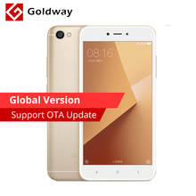 "Global Version Original Xiaomi Redmi Note 5A 2GB RAM 16GB ROM Mobile Phone Snapdragon 425 Quad Core 5.5"" Inch 13.0MP Camera(Hong Kong)"