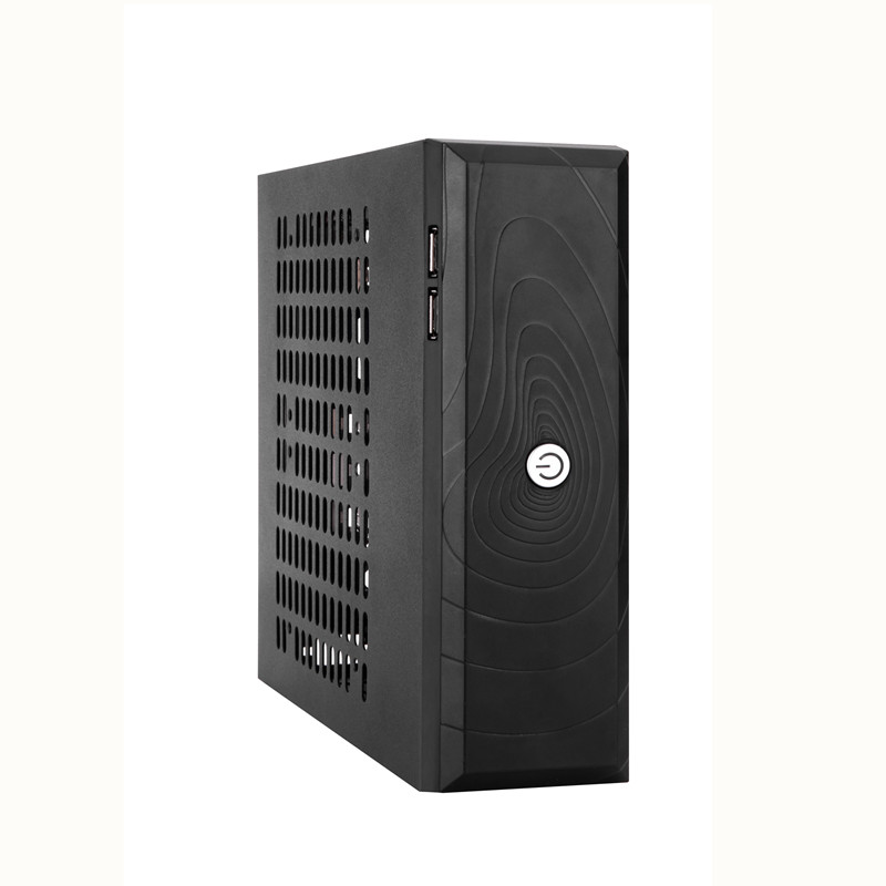 Itx Mini Desktop Empty Chassis Gamer Case Computer Safe Cabinet Full Tower Mini Thin ITX Desktop Gaming Empty Chassis USB Case