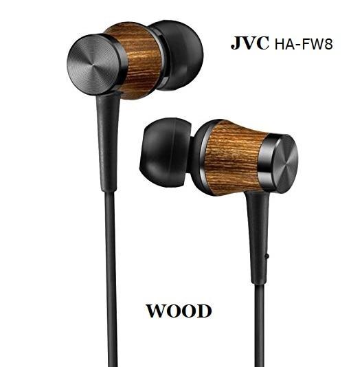 new technology 2019 JVC HA-FW8 Wooden dome diaphragm Drivers earphones with PK Sennheiser ie80S ie800 sport headset XBA K3003 UE