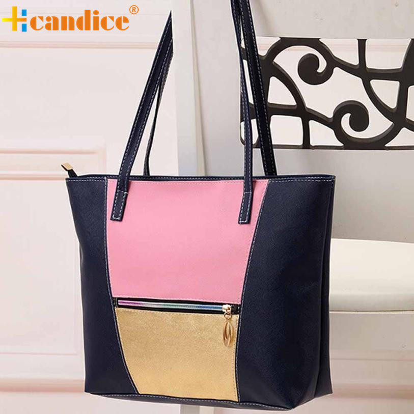 Naivety New Women Shoulder Bag Lady Handbag Tote PU Leather Casual Purse AUG04 drop shipping naivety new fashion women tassel clutch purse bag pu leather handbag evening party satchel s61222 drop shipping