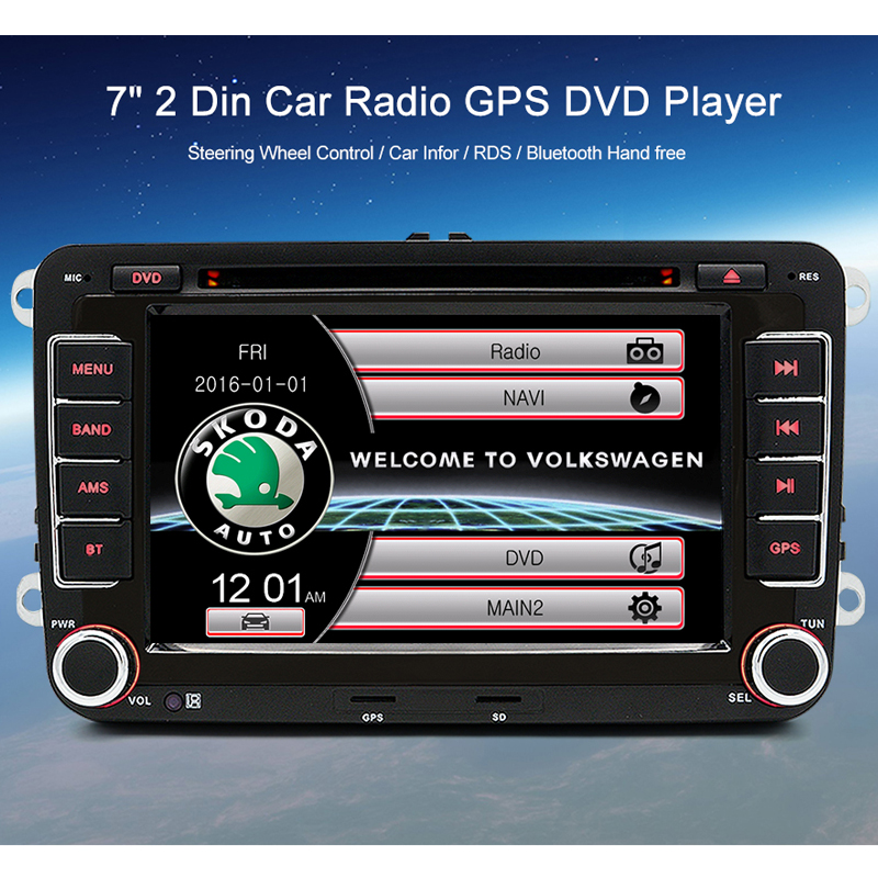 Radio doble DIN autoradio para Skoda Fabia octavia ii Rapid Roomster