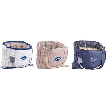 Leamai inflável dispositivo de tração vértebras lombares apoio fisiodescompressão cintura cinto para dor espinhal alívio da cintura massagem