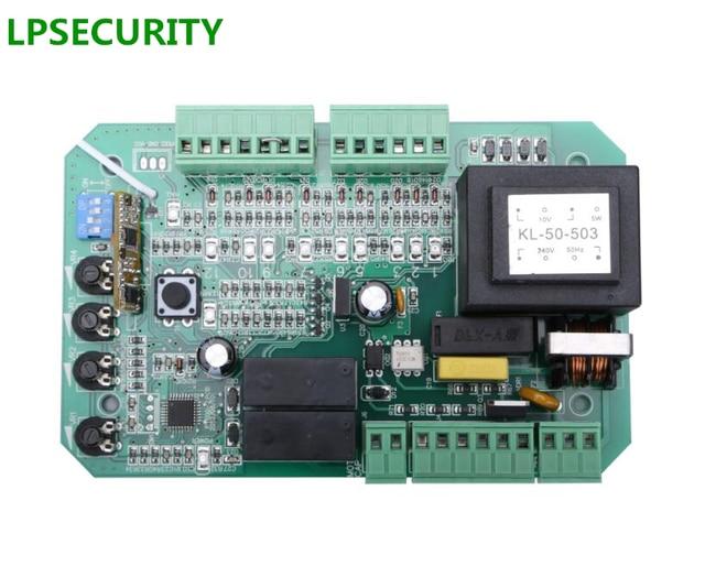 LPSECURITY sliding gate opener motor pcb circuit board controller card for PY600 L 220V110V AC