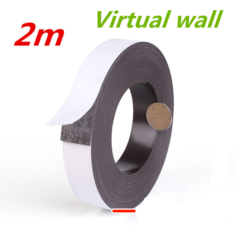 2m Virtual tape Protective wall for replacement Xiaomi MI Robot Neato XV botvac Robotic BotVac 70e D75 D80 D85 xiaomi vacuum 2 xiaomi robot vacuum barrier tape protective replacement 2 meters for mi robot vacuum cleaner parts