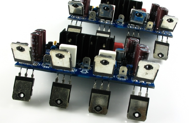 Assembled LJM L20 V7 Two Channels Power Amplifier Board (Two Board)