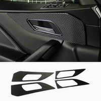 Car accessories Interior door handshandle Carbon fiber sticker Cover Car styling For Jaguar F Pace X761