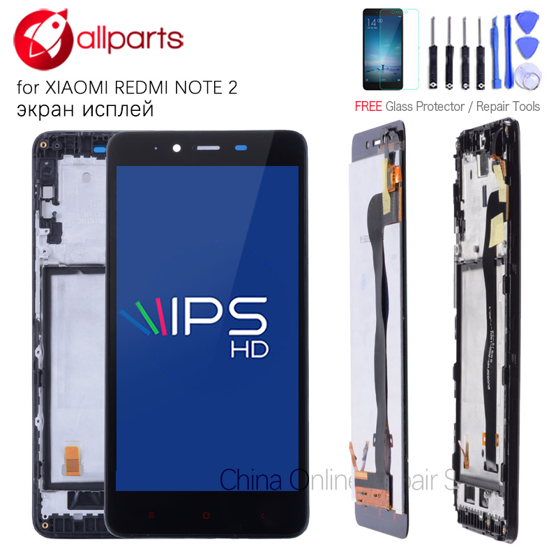 For XIAOMI Redmi Note 2 LCD Touch Screen Digitizer Assembly Replacement NO Dead Pixels 5.5