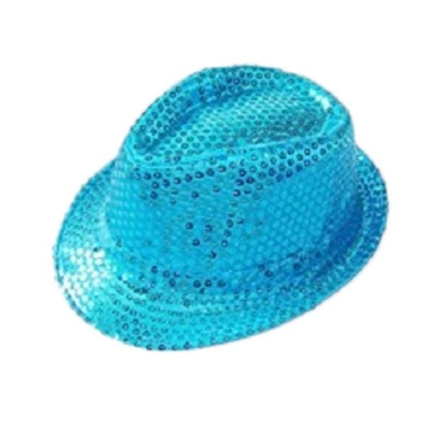 Moeble Children s Hats With Sequins Kids Fedora Hat Little Boys Girls Top  Hat Jazz Cap Gangster 7b24a521857