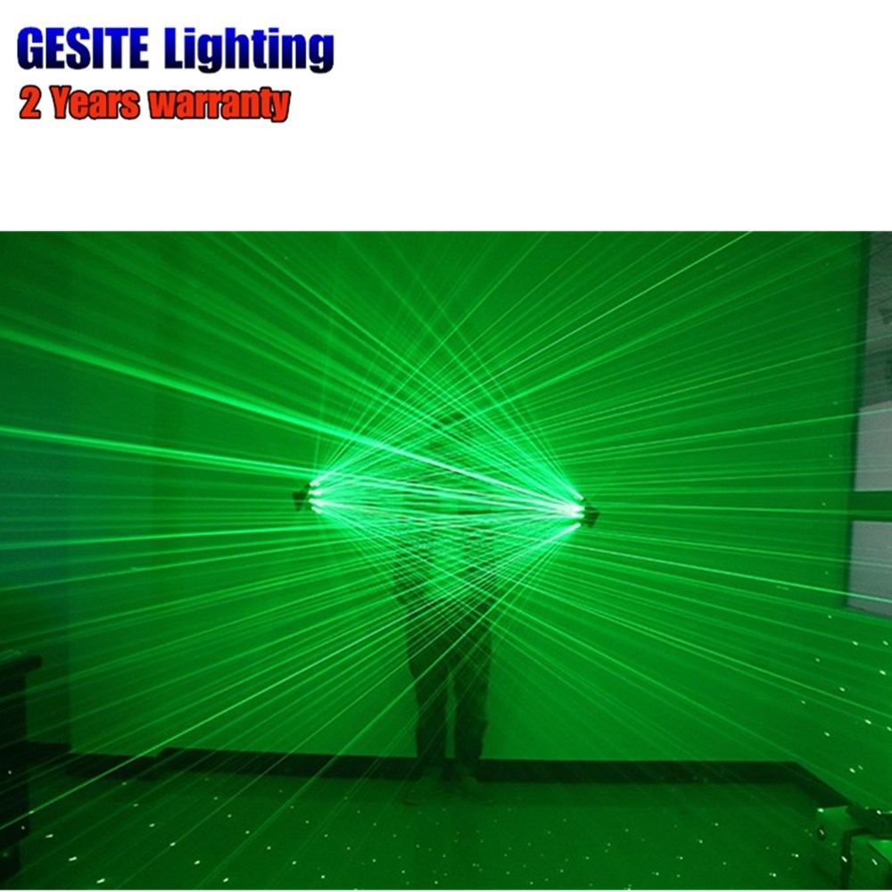 2Pcs Green laser gloves Green Color Finger Lamps For DJ Club Stage Dance Party Live Show стоимость