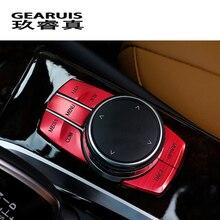 Стайлинга автомобилей интерьера Металл мультимедийный Пуговицы крышка декоративная отделка Наклейки Интимные аксессуары для BMW 5 серии G30 G38 Интимные аксессуары