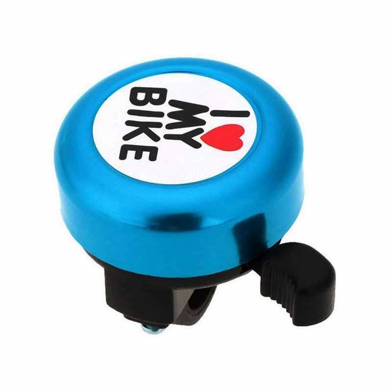 จักรยาน Bell - 'I Like My Bike' จักรยานฮอร์นดังอลูมิเนียมจักรยานแหวน Mini จักรยานอุปกรณ์เสริมสำหรับผู้ใหญ่ผู้ชายผู้หญิงเด็กเด็ก