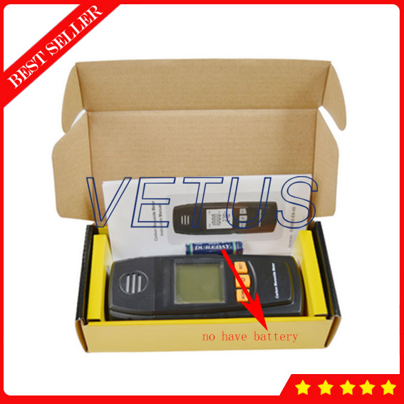 GM8805 Portable Handheld Carbon Monoxide Price with digital carbon monoxide gas detector
