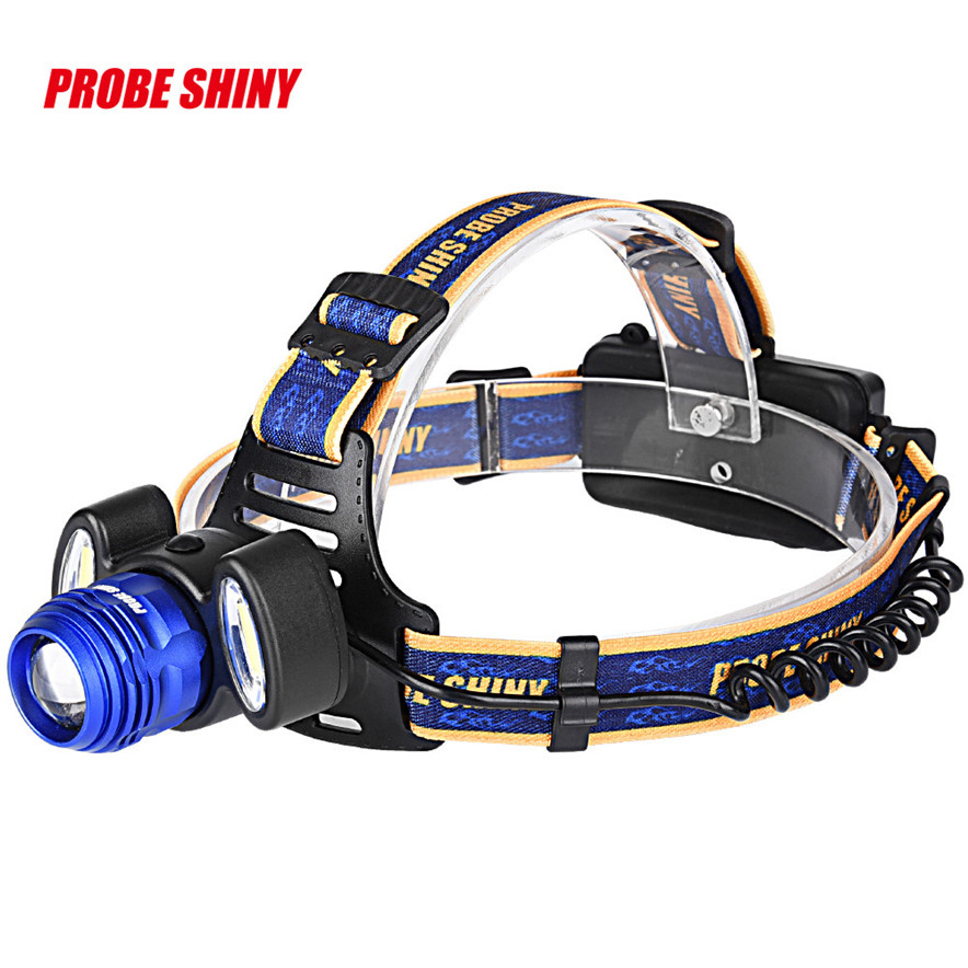 headlamp 18650 15000Lm 3x XML T6 LED Rechargeable Headlight Head Torch Light l7110