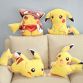 Venta caliente 60 cm cojín lindo pokemon pikachu de la felpa muñeca Cojín Anime Juguetes Para Niños Regalo De Almohadas Decorativas Para El Sofá niños