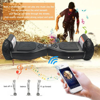 6.5 Inch Tyre Hoverboards Two Wheels Smart Bluetooth Self Balance Scooters Silence Motor Strong Power Perfect Gift free shipping