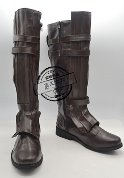 Star Wars Anakin Skywalke Cosplay Boots Shoes Custom Made anime voltron legendary defender keith boots cosplay shoes custom made