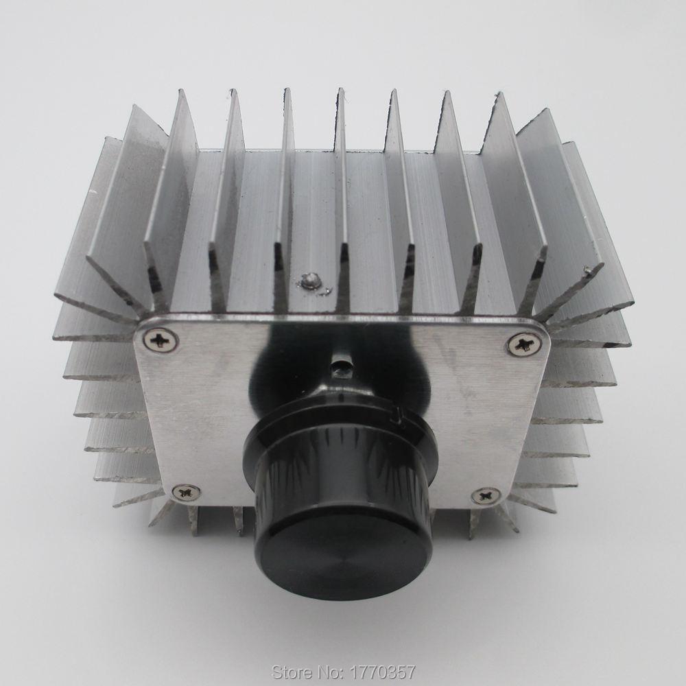 все цены на 1PCS AC 220V 5000W SCR Electronic Voltage Regulator Speed Temperature Controller Dimming Dimmers онлайн