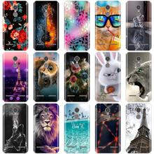 Case For Lenovo K6 Cover Soft Silicone 3D Cute Coque For Len