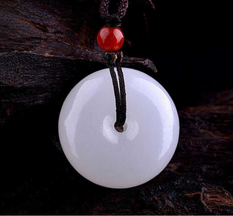 Haute qualité pierre naturelle Afghanistan blanc pendentif pendule paix boucle pendentifs chakra pendule suspension guérison