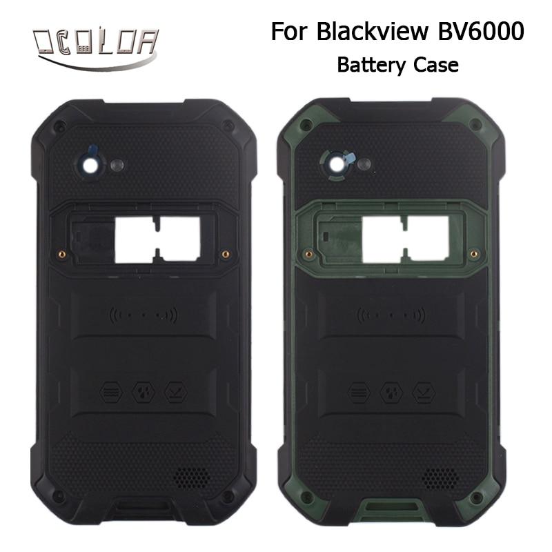bilder für Für Blackview BV6000 Batterie-kasten Ursprüngliche Durable Schutzmaßnahmen Zurück Fall Ersatz Für Blackview BV6000 Handy