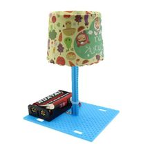 Small Table Lamp Creative DIY Handmade Science Experiment Children Making Invention Kindergarten Educational Toy