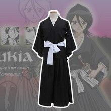 Bleach Kuchiki Rukia Anime Cosplay Costume Men Cos Halloween Party Dresses