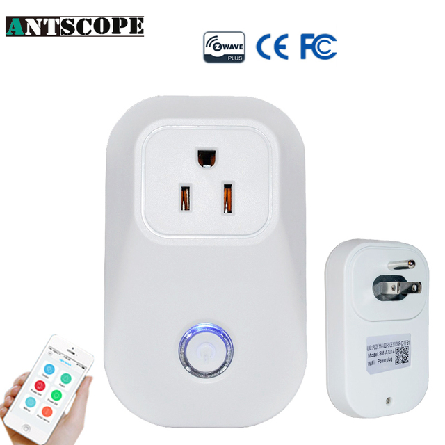 Antscope Z Wave Wireless Smart Outlet US Power Plug Smart Home ...