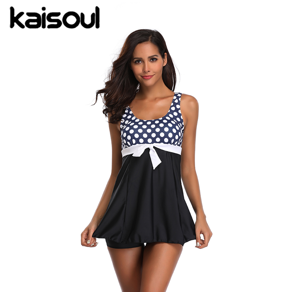 Sexy Bikini Swimwear Dots Two Pieces Women Swimsuit Plus Size Push Up Print Swimming Beachwear New