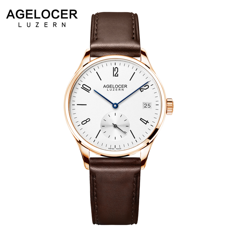AGELOCER Famous Swiss Brand Women Dress Watches Ladies Luxury Casual Gold Automatic Watch Relogio Feminino Female Clock Hours swiss fashion brand agelocer dress gold quartz watch women clock female lady leather strap wristwatch relogio feminino luxury