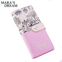 Mara's Dream, брендовый кожаный кошелек, женские кошельки, Дамский кошелек для карт, клатч, женский, Carteras Mujer Monederos, женская сумка, Feminina