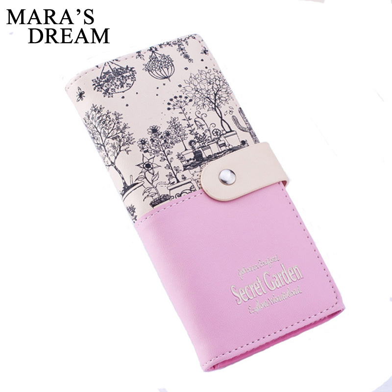 Mara's Dream Brand Leather Wallet Women Wallets Ladies Card Purse Clutch Female Carteras Mujer Monederos Women's Bag Feminina