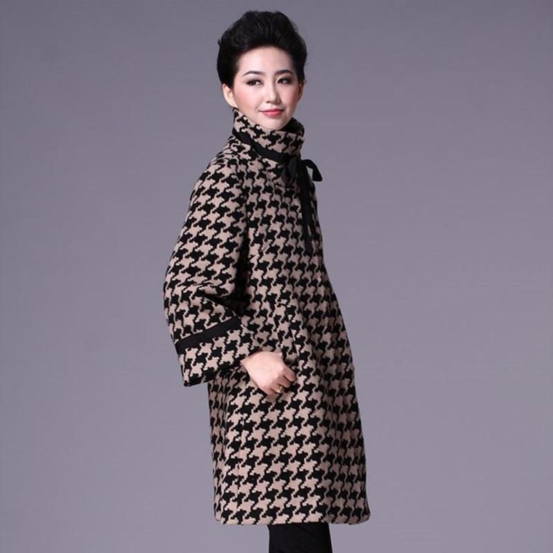 Women blend coat female ladies trending styles warm Woman coats winter 2019 long coats woman winter 2019 trenchcoat DD1595