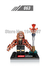 Wholesale Scarlet Witch Avengers 2 Age of Ultron Minifigure Action Figure Building Block Set Model Brick Toy For Kids