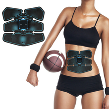 Muscle Stimulator Abdominal Musculaire Electro Vibration Fitness Massager Abdomen Trainer EMS Home Gym Belly Massage USB Charged все цены