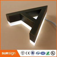 Custom 3D Acrylic LED Letters Sign Outdoor Customized Advertising Business Open Sign