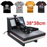 High Pressure 38x38CM T shirt Printing Machine Sublimation Printer Heat Transfer Bag Case Puzzle Glass Wood Rock Photo