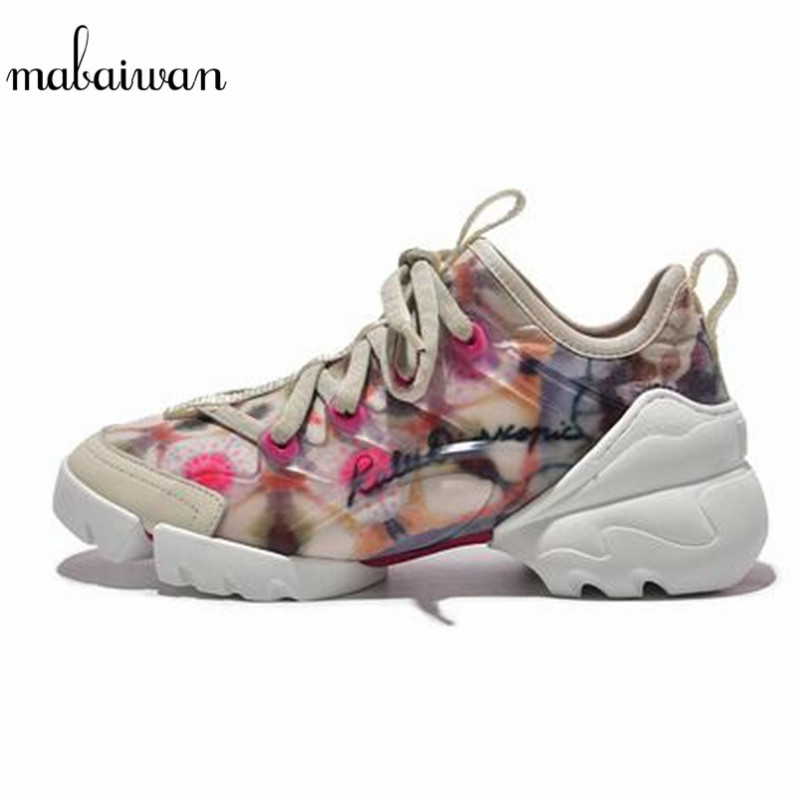 Mabaiwan Casual Women Shoes Espadrilles Sport Dad Sneakers Breathable Stretch Fabric Walking Shoes Woman Lace Up Platform FlatsMabaiwan Casual Women Shoes Espadrilles Sport Dad Sneakers Breathable Stretch Fabric Walking Shoes Woman Lace Up Platform Flats