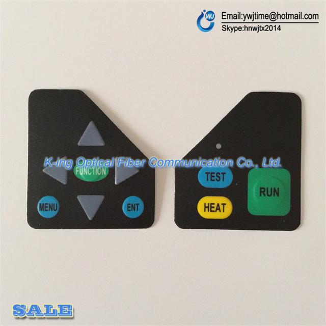 Máquina De solda De Fibra KL-280 Jilong KL280 splicer fusão de fibra Óptica splicer KL-280 da placa Chave placa chave 1 Par