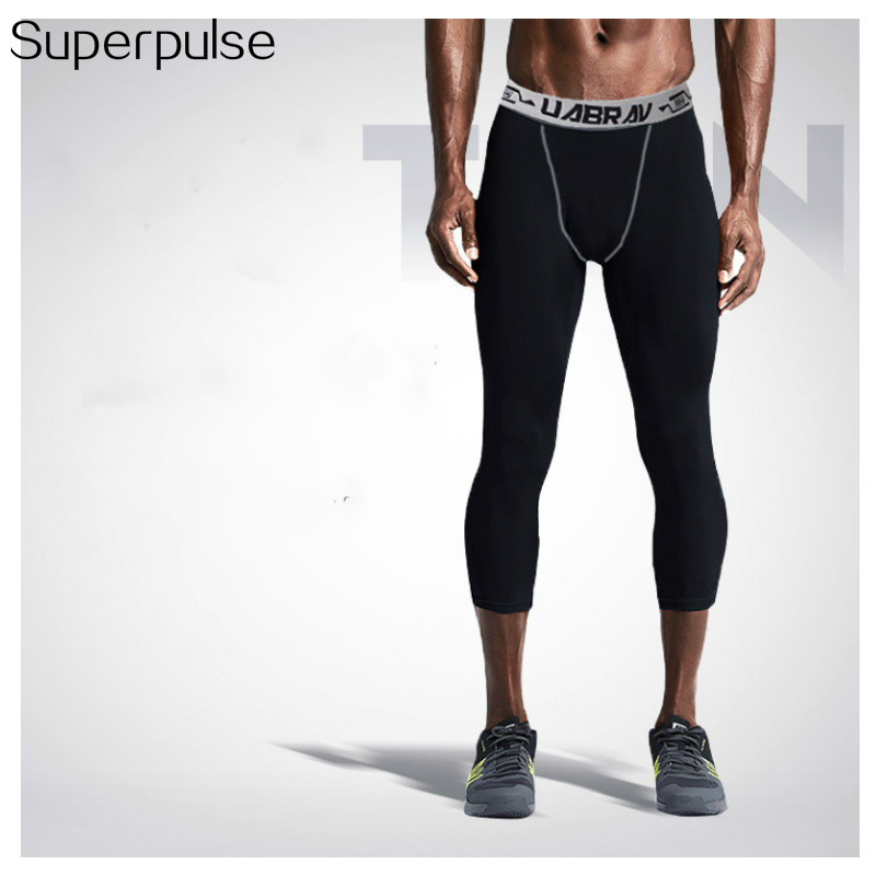 Superpulse Gym 3 4 Pria Legging Baru Celana Pendek Olahraga Untuk Pria Jogging Celana Kompresi Menjalankan Kebugaran Legging Shorts Shorts Running Shorts Men Sportshorts Compression Men Aliexpress