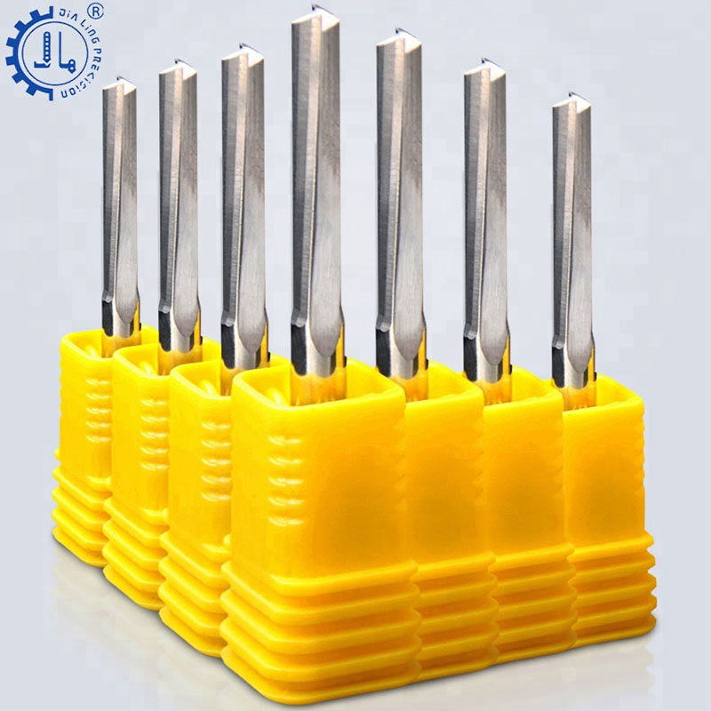 JIALING 1 Pc T Slot End Mill Cnc Engravings Mill Half Round Router Bits 3mm Router Bits 8mm Shank For Wood