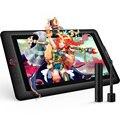 XP-Pen Artist15.6 Pro Grafische tablet Grafische monitor Digitale tablet Rode Wijzerplaat met 60 graden van tilt functie en 8 express keys