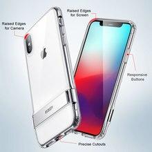 ESR Metal Kickstand Transparent Case for iPhone X/Xs, Xr, XsMax