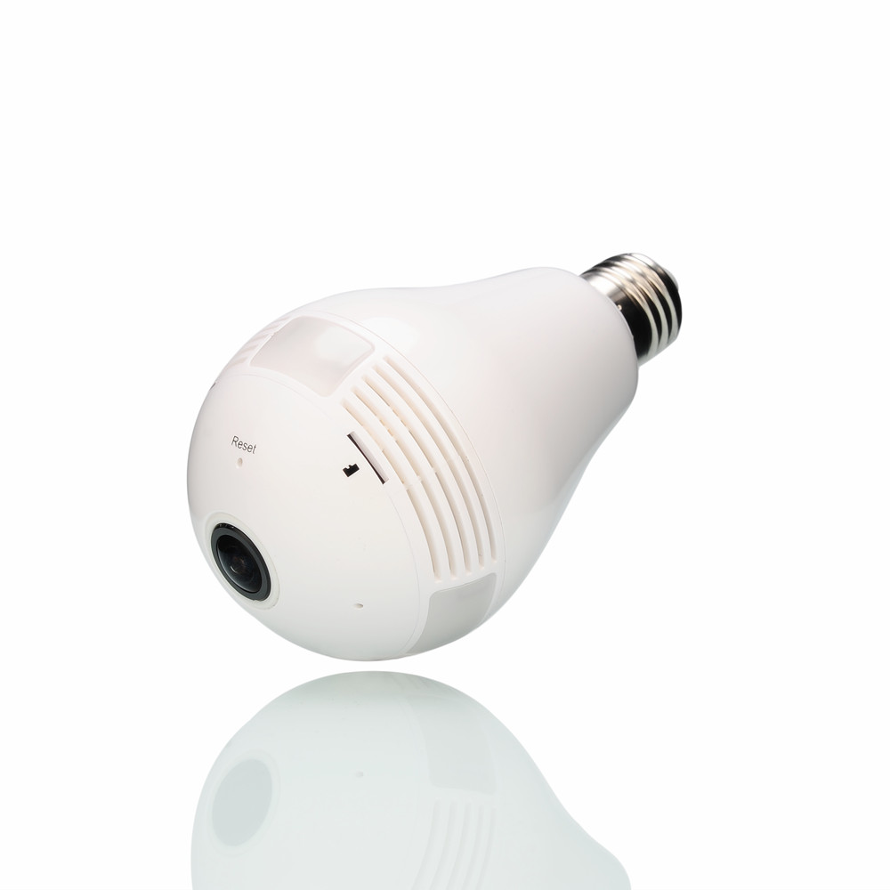 ZILNK WIFI Camera 360 Degree Light Lamp IP Camera 1080P HD Wireless Home Security CCTV Camera Fisheye Panoramic Bulb Network zilnk new mini lamp bulb light wifi camera fisheye 1080p hd wireless ip camera 360 degree panorama lens support 128gb tf card