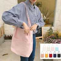 Raged Sheep Women Shopping Bag Ladies One Shoulder Bag Totes Eco Shopping Bag Daily Use Foldable Canvas Bag Canvas Women Female