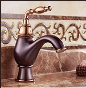 new arrival luxury high quality brass material modern design Rome bronze finished bathroom sink mixer basin faucet fashion high quality bronze finished