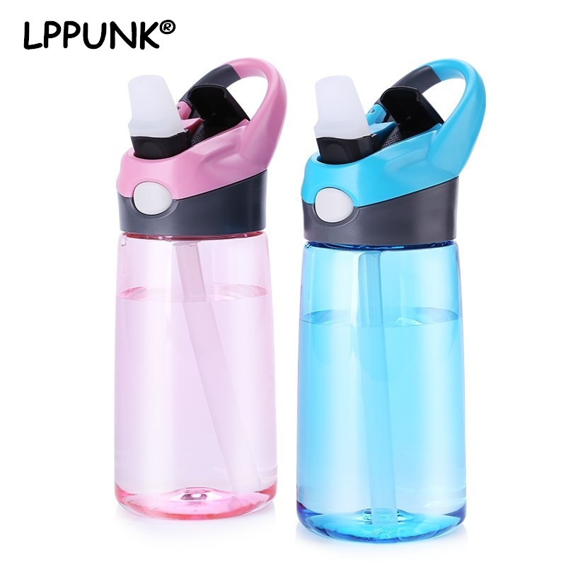 Bpa free 2018 hot sale high-end fashion sport outdoor plastic tritan my water bottle portable kettle button lid straw Bottle