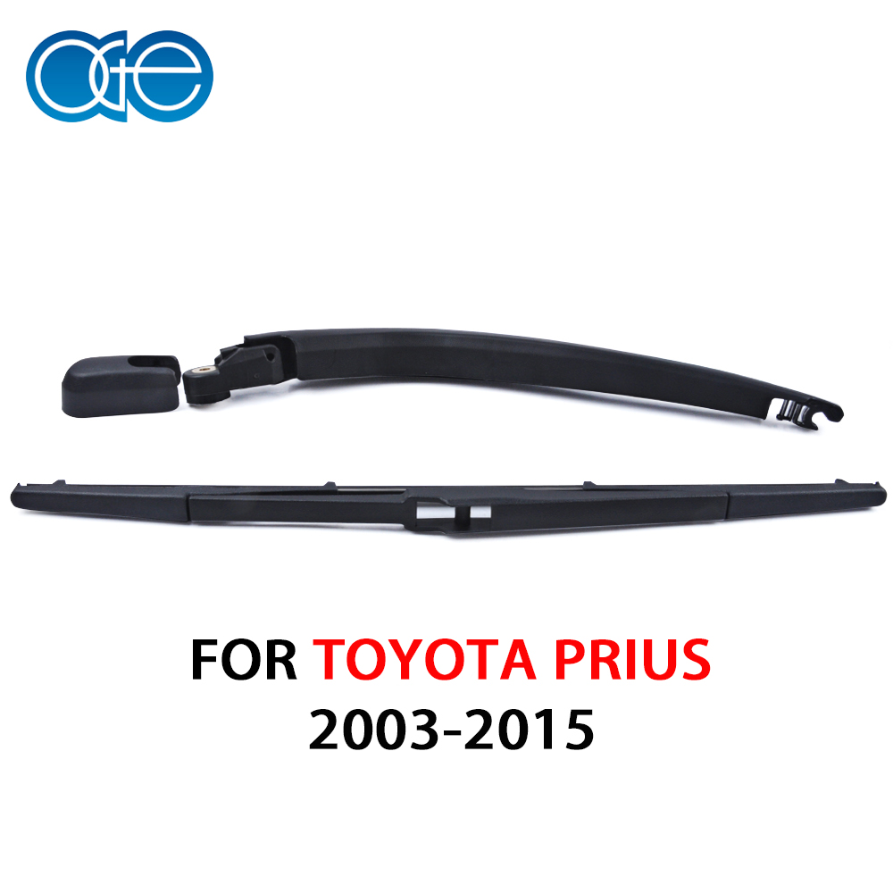 Rear Wiper Arm Blade Set Back Windshield Fit For TOYOTA PRIUS 2003-2009 400MM