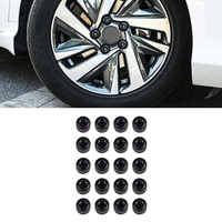20pcs Wheel Hub Bolt Covers Sticker Durable for Honda Civic 10th 2016 2017 2018 Car Refitting Accessories Anti theft Nut Cap Car