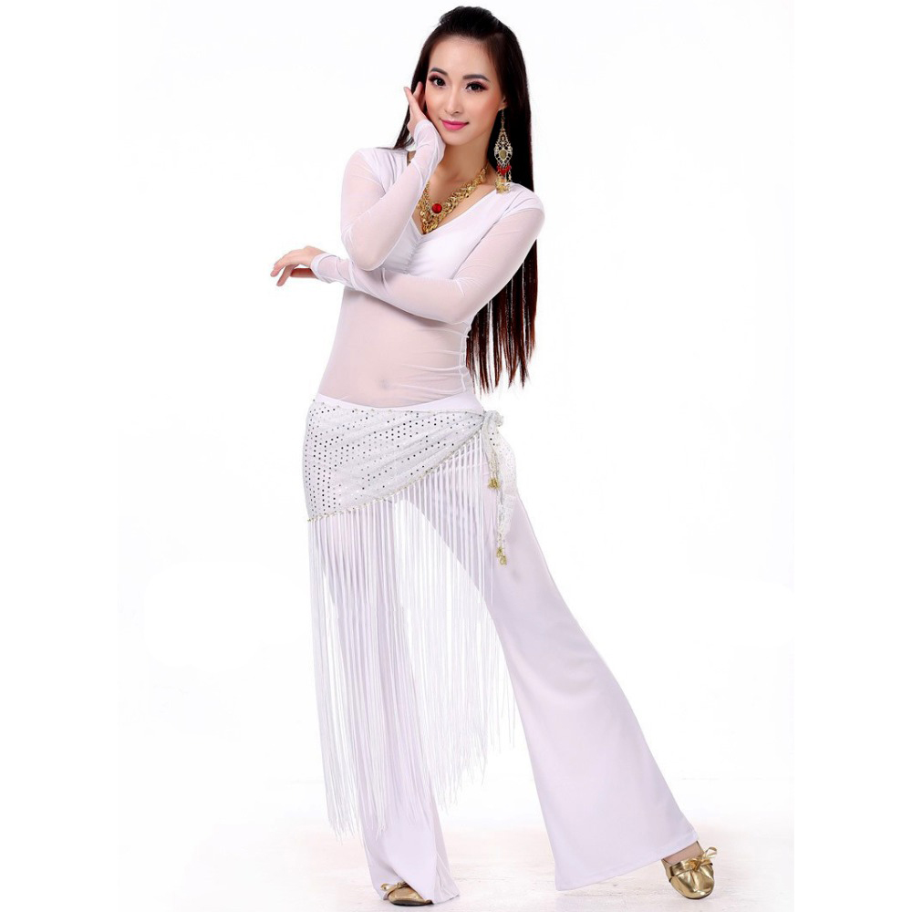 Picture of 2017 Belly Dance Costume Set Professional Topamppantsamphip Scarf Indian Dress Lady Belly Dancing Dance Wear Practice\/Performance
